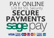 SagePay for secure payments