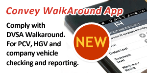 Convey WalkAround All for DVSA Compliance (Android and iOS)