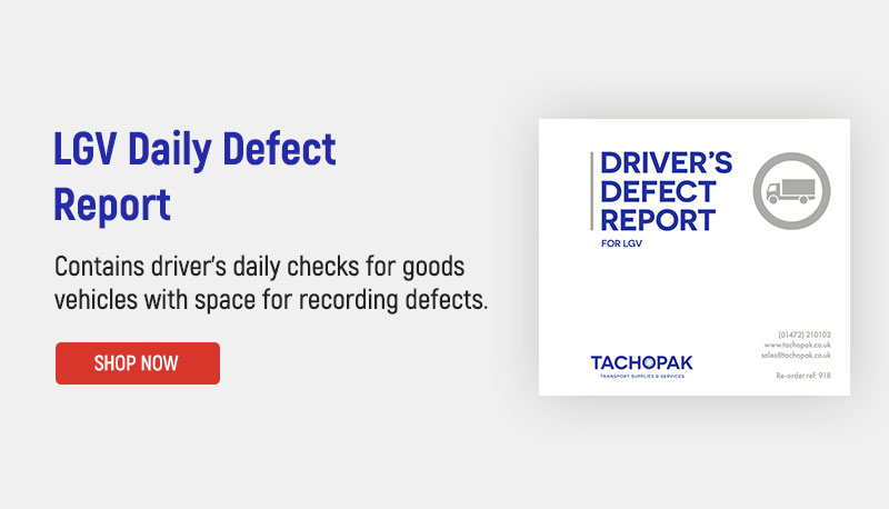 LGV Daily Defect Report